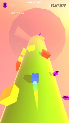 Warp and Roll - running flight action game 1.1.7 screenshots 22