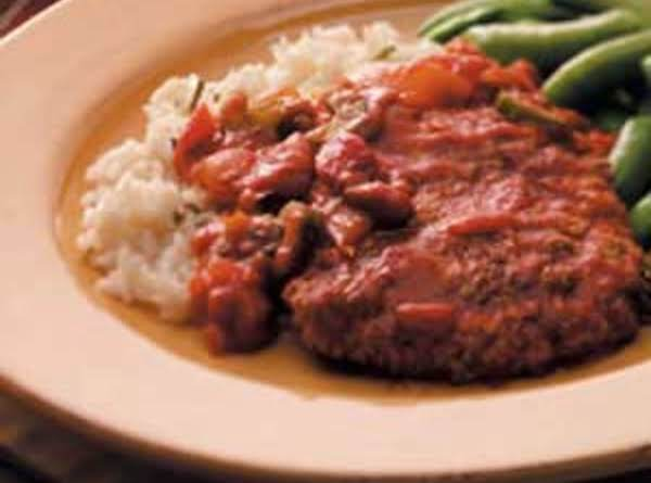 Savory Swiss Steak Sizzle Recipe