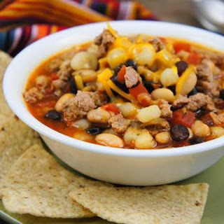 Taco Soup for the Instant Pot.