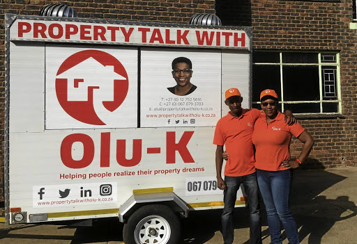 Olu Khonjwayo uses her Property Talk with Olu K platform to educate and empower stokvels members on how to purchase property. With her assistant Mpho Maphosa