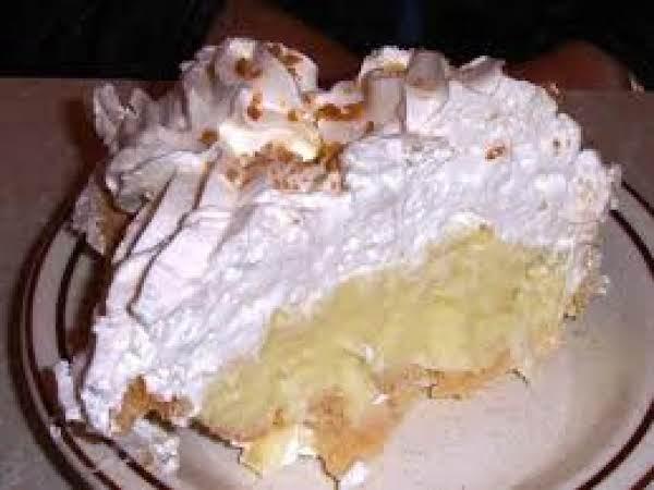 Banana Coconut Pie