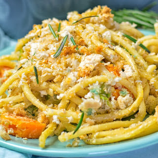 Brussels Sprouts Pasta Casserole [Vegan, Gluten-Free]
