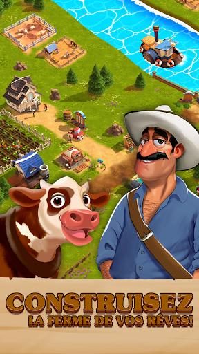 Télécharger Happy Town Farm: Jeux de Ferme APK MOD (Astuce) screenshots 1