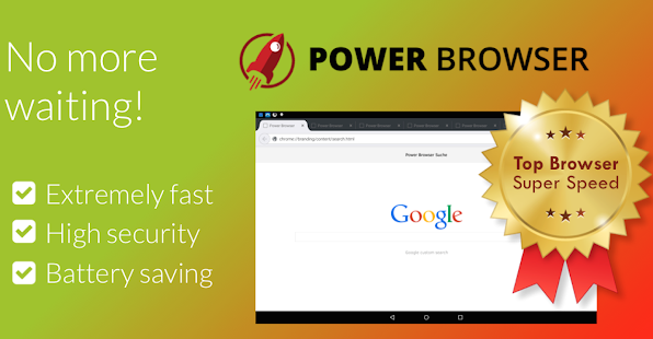 Power Browser - Fast Internet Screenshot