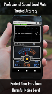 Decibel 10: dBA Noise Meter, FFT Spectrum Analyzer- screenshot thumbnail
