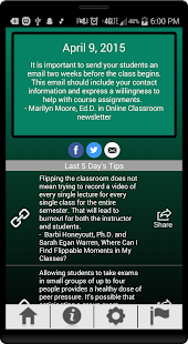 Teaching Professor Tips- screenshot thumbnail
