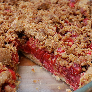 Cranberry-Ginger Streusel Pie