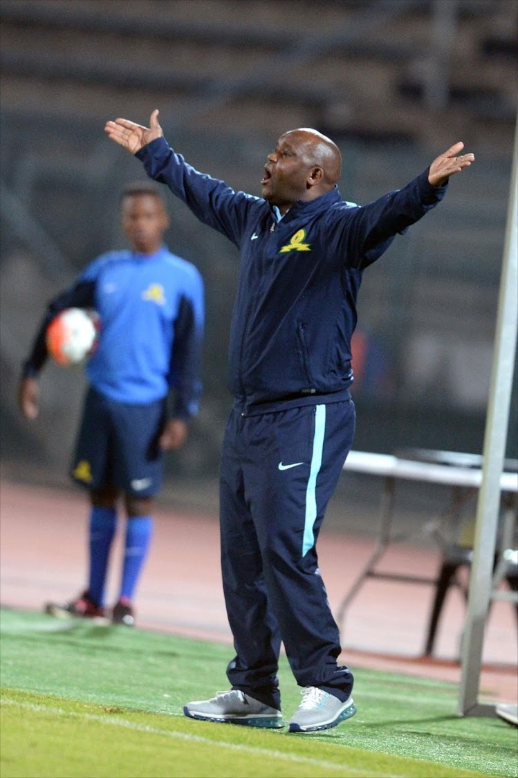Pitso Mosimane. Picture: GALLO IMAGES/LEFTY SHIVAMBU