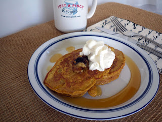 Autumn Pancakes With Caramelized Walnuts Recipe