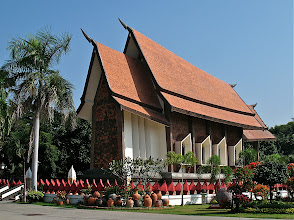Photo: main chapel of Wat Sala Loi, Khorat