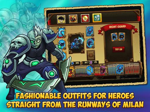 Booblyc TD - Cool Fantasy Tower Defense Game screenshots 15