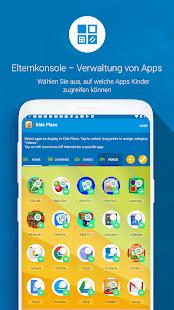 Kids Place Mit Kindersicherung und -sperre Screenshot