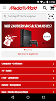 Screenshot of Media Markt Österreich