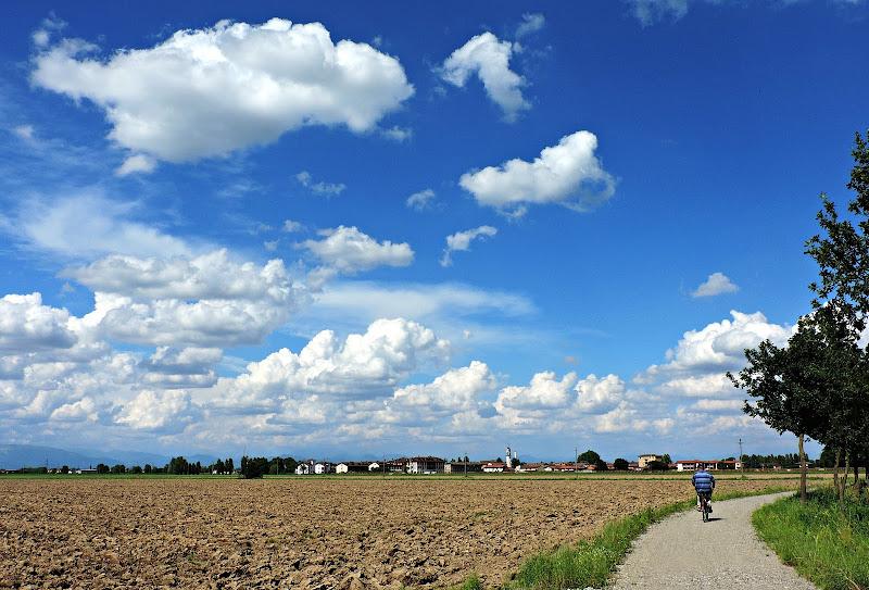 La pianura sotto il cielo di Lombardia di donyb