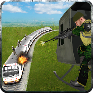 Helicopter Flying Train Sniper for PC and MAC