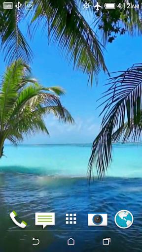 無料个人化Appのビーチ動画壁紙|記事Game