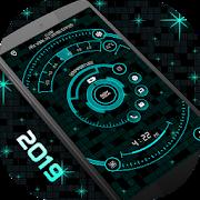 Stylish Launcher 2019 - hi-tech launcher theme
