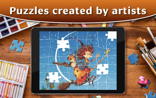 Jigsaw Puzzle Collection HD screenshot 4