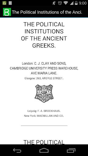 The Ancient Greeks Politics