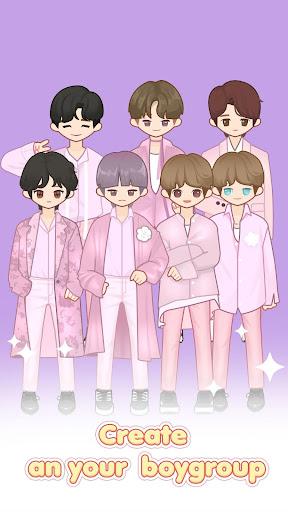 MYIDOL (#Dress up #BoyGroup #k-star #k-pop)  screenshots 1