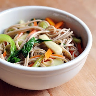 Soba Noodle Salad with Bok Choy.