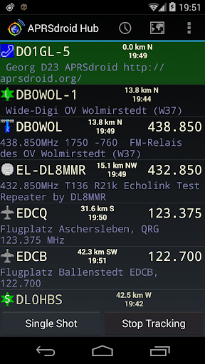 Screenshot for APRSdroid - APRS Client in United States Play Store