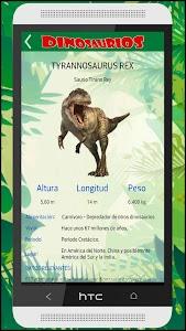 Guia Dinosaurios Prehistóricos screenshot 5