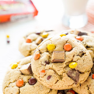 Overloaded Reese'S Peanut Butter Pudding Cookies Recipe