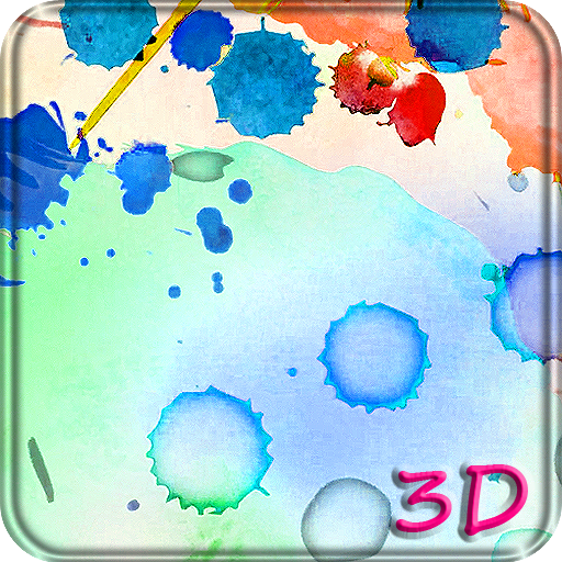 Color Ink 3D Live Wallpaper Icon