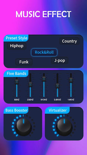 Music Equalizer - Bass Booster & Volume Up 1.0 screenshots 1
