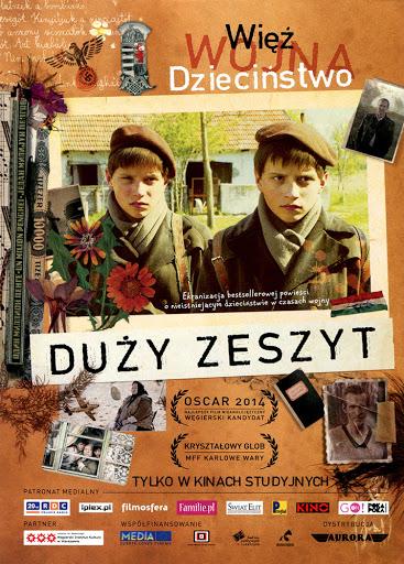 Przód ulotki filmu 'Duży Zeszyt'
