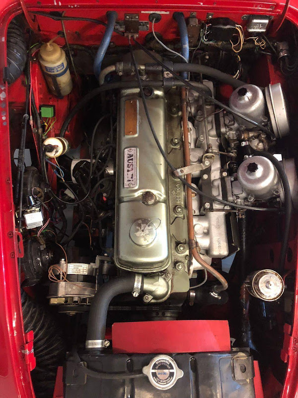 Austin Healey 3000 MK3 - 1967 - 69 750€