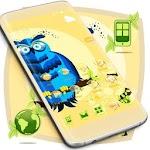 Blue Owl Free Launcher Theme Icon