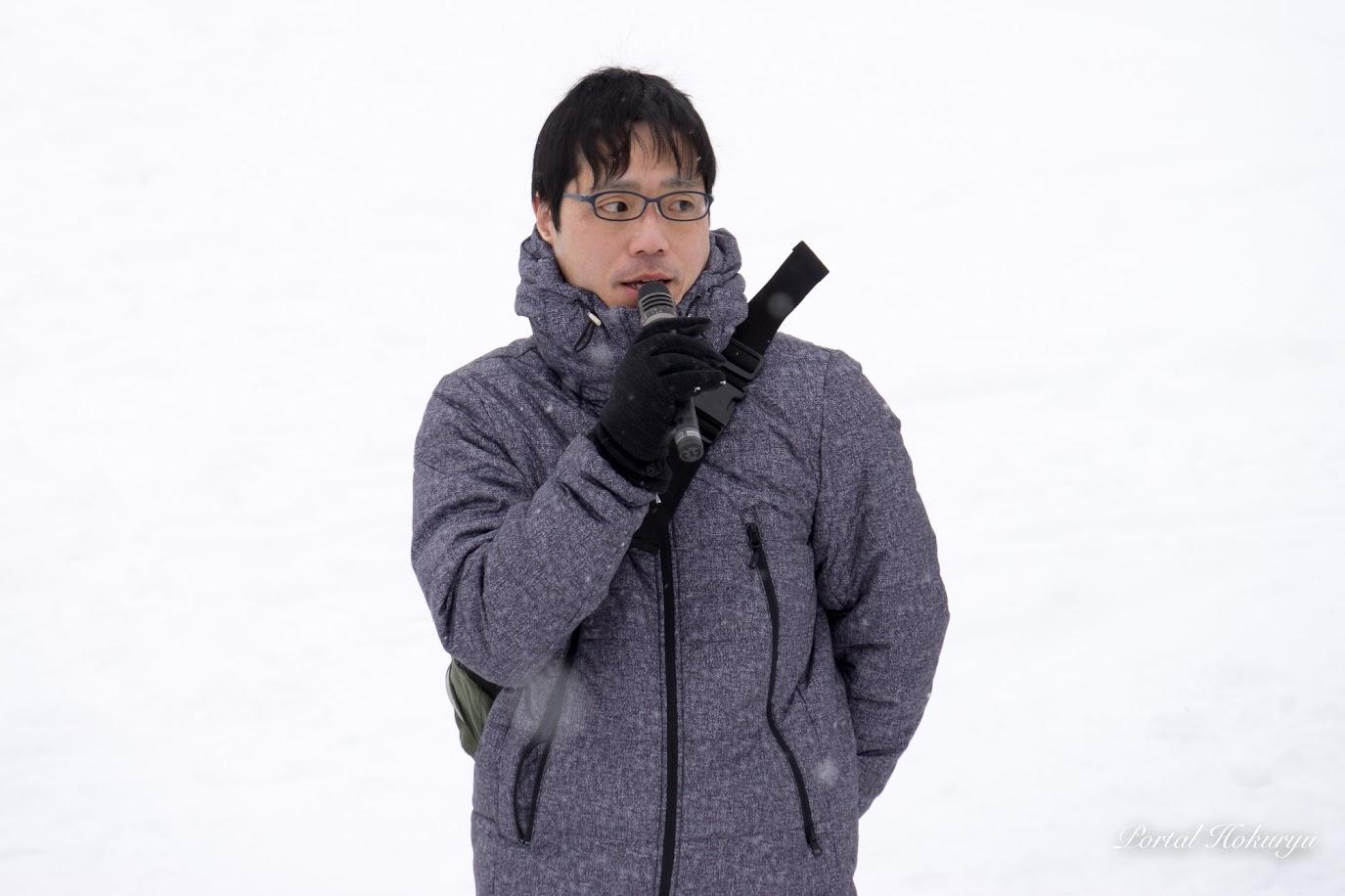北竜町商工会青年部・三原淳平 部長