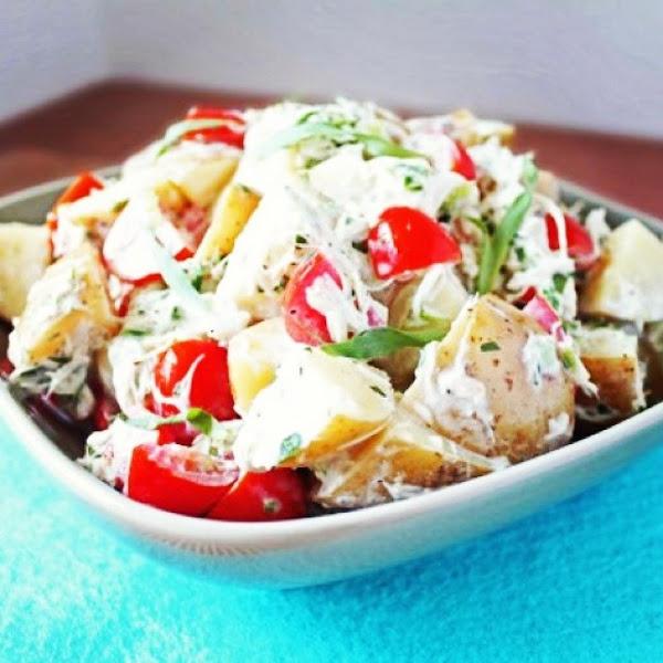 Tom's Vladivostok Potato Salad Recipe