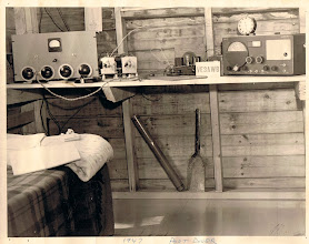 Photo: This 1947 shack at a summer cottage at Port Dover Ontario, belonged to VE3AWB Ross Huffman (sk).