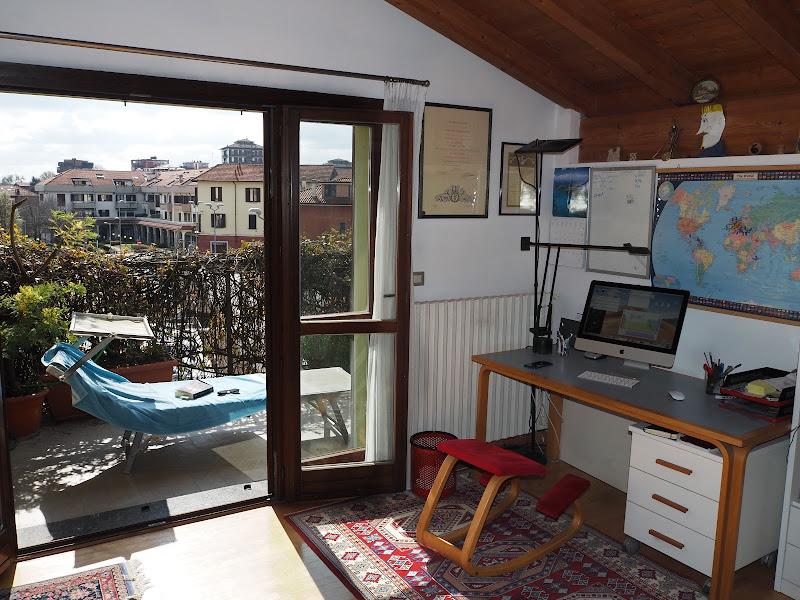 In casa ma anche sul balcone di gaspare_aita