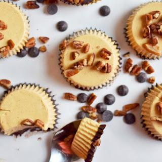 No-Bake Two-Bite Pumpkin Cheesecakes (Paleo, dairy-free)