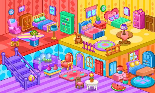 Doll House Decoration Game Screenshot Thumbnail