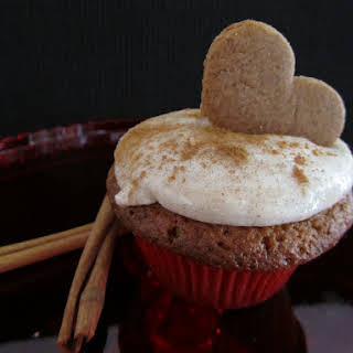 Ginger and Cinnamon Cupcakes.
