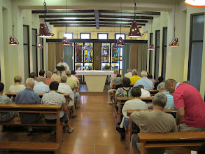 Photo: It.s2C20-141009San Giovani Rotondo, chapelle, dans bâtiment annexe  IMG_5870