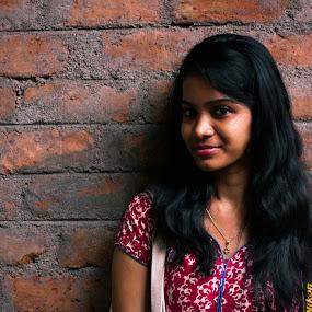 by Nanda Kumar - People Portraits of Women