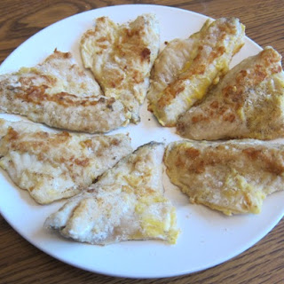 Pan Fried Ocean Perch Fish Fillets