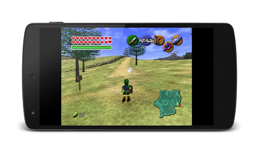 MegaN64 (N64 Emulator) screenshot 2