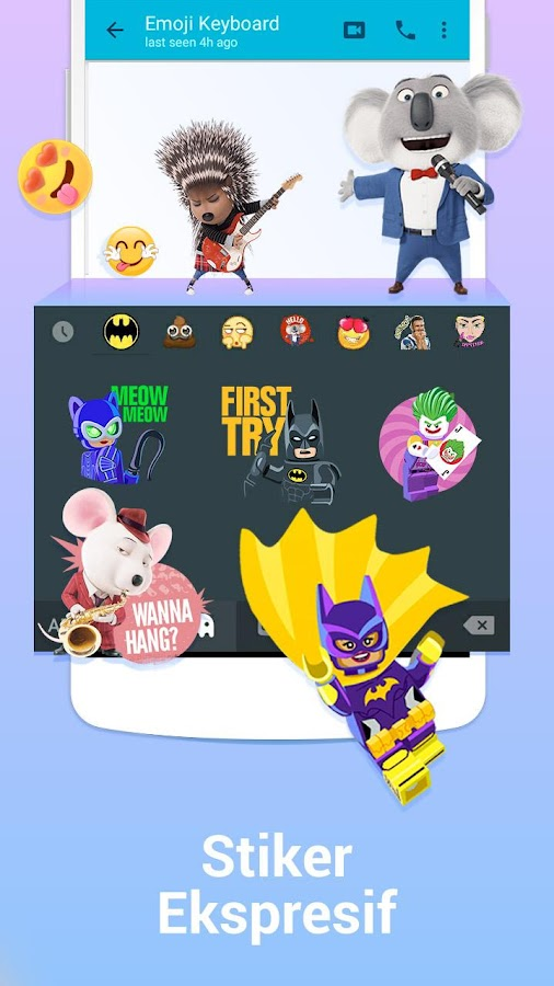 Kika Keyboard – Emoji, GIF- screenshot