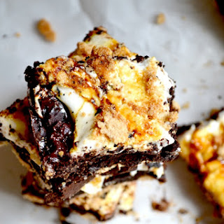 Vegan S'mores Fudge Brownies