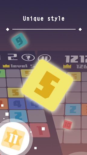 Mix 11:Number puzzle game - screenshot
