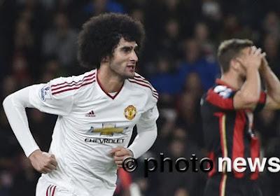 Manchester United tombe (encore) à Bournemouth malgré un but de Fellaini