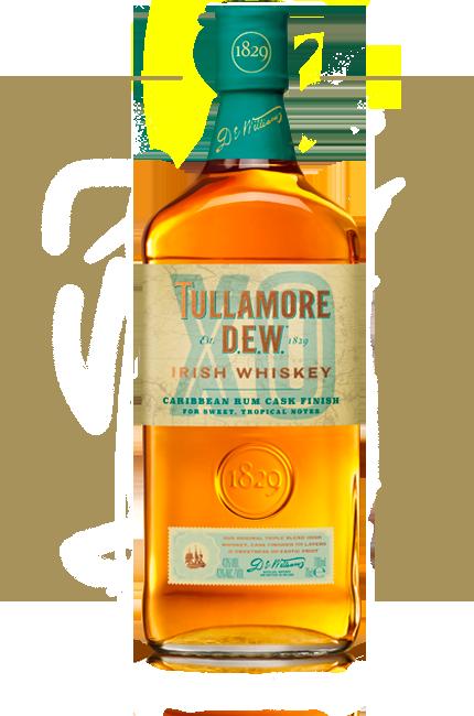 Logo for Tullamore D.E.W. Caribbean Rum Cask Finish