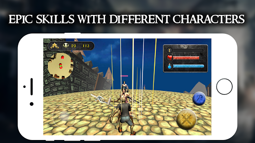 Zombie Vs Amazon Warrior - Frp War Game 1.0.3 screenshots 7